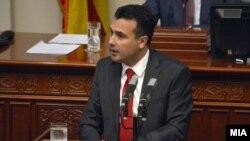 Премиерот Зоран Заев во Собрание на седница за пратенички прашања