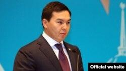 Нурали Алиев, внук президента Казахстана Нурсултана Назарбаева, в бытность заместителем акима Астаны.
