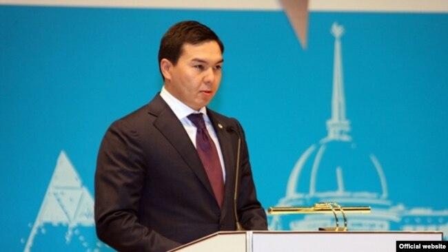 Сын Дариги Назарбаевой Нурали Алиев.