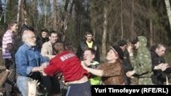 Clashes Erupt Over Khimki Forest