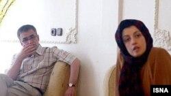 تقی رحمانی و همسرش نرگس محمدی