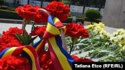 De ziua tricolorului, la Chisinau
