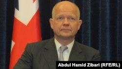 Sekretari i Jashtëm britanik, William Hague, (ARKIV)