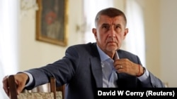 Czech Prime Minister Andrej Babis (file photo)