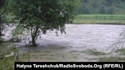 Ukraine -- Flood, 2008