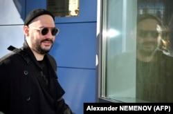 Кирилл Серебренников у здания Мещанского суда, октябрь 2018 года