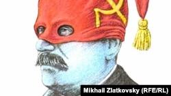 Mixail Zlatkovski. Stalinin karikaturası