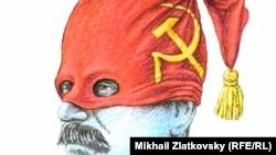 Сталин. Карикатура Михаила Златковского
