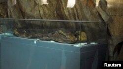 ერთ-ერთი მუზეუმის ექსპონატები პალმირაში