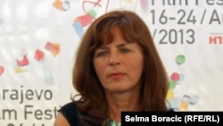 Mira Furlan na Sarajevo Film Festivalu (avgust 2013.)