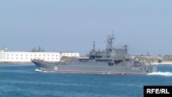 Один із ракетних катерів Чорноморського флоту Росії «Цезарь Куніков»