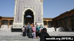Самарканд облусундагы имам Исмаил ал-Бухарий мечити.