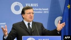 Եվրոպական հանձնաժողովի նախագահ Ժոզե Մանուել Բարոզուն Վիլնյուսում