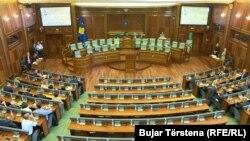 Poluprazna sala Skupštine Kosova