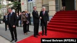 """""""NATO doživljavamo kao stratešku potrebu Crne Gore da doprinese stabilnosti"""", rekao Vujanović"""