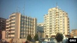 Ndërtesa ku ishte vendosur UNMIK-u