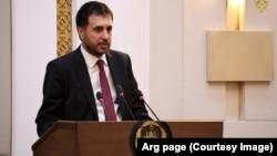 Afghan Defense Minister Asadullah Khaled