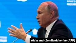 Президент России Владимир Путин. Москва, 3 октября 2018 года.