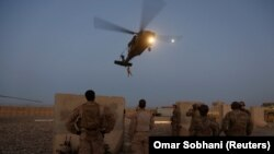 La exerciții militare în provincia Helmand din Afganistan