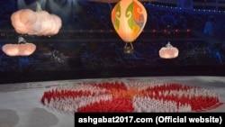 Азия оюндарынын жабылыш салтанаты