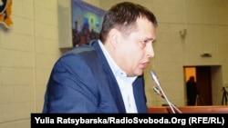 Борис Філатов на першому засіданні Дніпропетровської міської ради, Дніпропетровськ, 27 листопада 2015 року