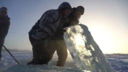 Akcija sakupljanja leda u Jakuti