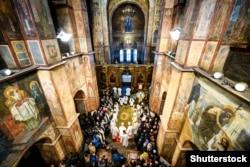 Софійський собор, Київ, 7 січня 2018 року