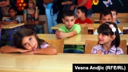 Đaci prvi dan u školi, ilustrativna fotografija