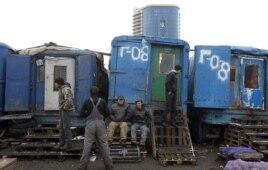 Көкөніс базарында жұмыс істейтін мигранттар. Мәскеу, 11 қараша 2011 жыл. (Көрнекі сурет)