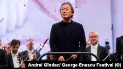 Dirijorul Myung-Whun Chung, dirijor al unei memorabile interpretari în festival a Rapsodiei a IV a de Brahms