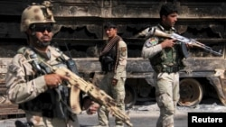 Աֆղանստանի անվտանգության ուժերի զինծառայողներ, արխիվ