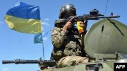 Ukrayna əsgəri