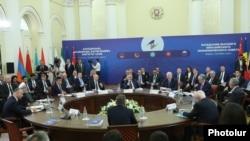 Саммит ЕАЭС, Ереван, 1 октября 2019 г.