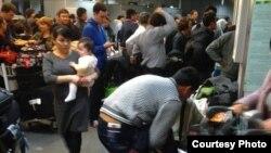 Toshkent aeroportida bojxona tekshiruvi