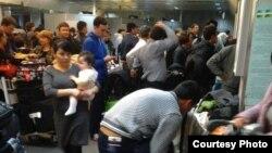 Daşkendiň aeroportunyň gümrük barlagy