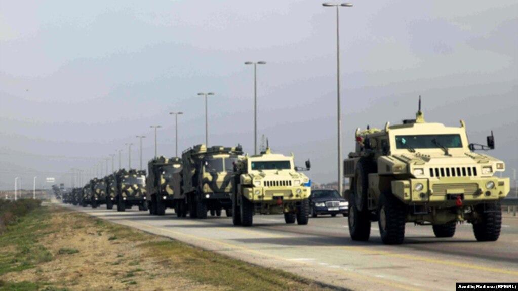 Азербайджан в 2018 году примерно на 300 млн долларов увеличил военные расходы