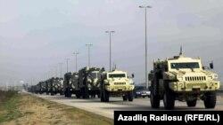Azərbaycan ordusu hərbi təlimlər keçirir