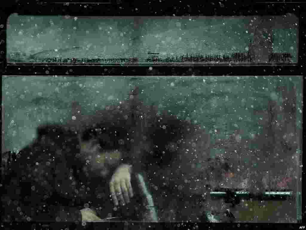 Моросящий дождь (изморось) и идущий полосами