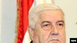 وليد معلم می گوید: هنگامی که اسراييل برای از سر گيری گفت و گوها آماده شود، دمشق هم آماده مذاکره است. (عکس: epa)