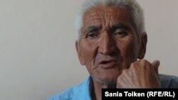 Ираннан келген оралман Әбдірахман Бабық. Ақтау, 27 маусым 2015 жыл.