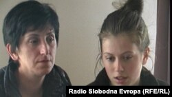 Благица Ристеска од Крушево и ќерки и Христина.