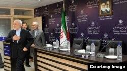 محمد جواد ظریف در شورای راهبردی روابط خارجی