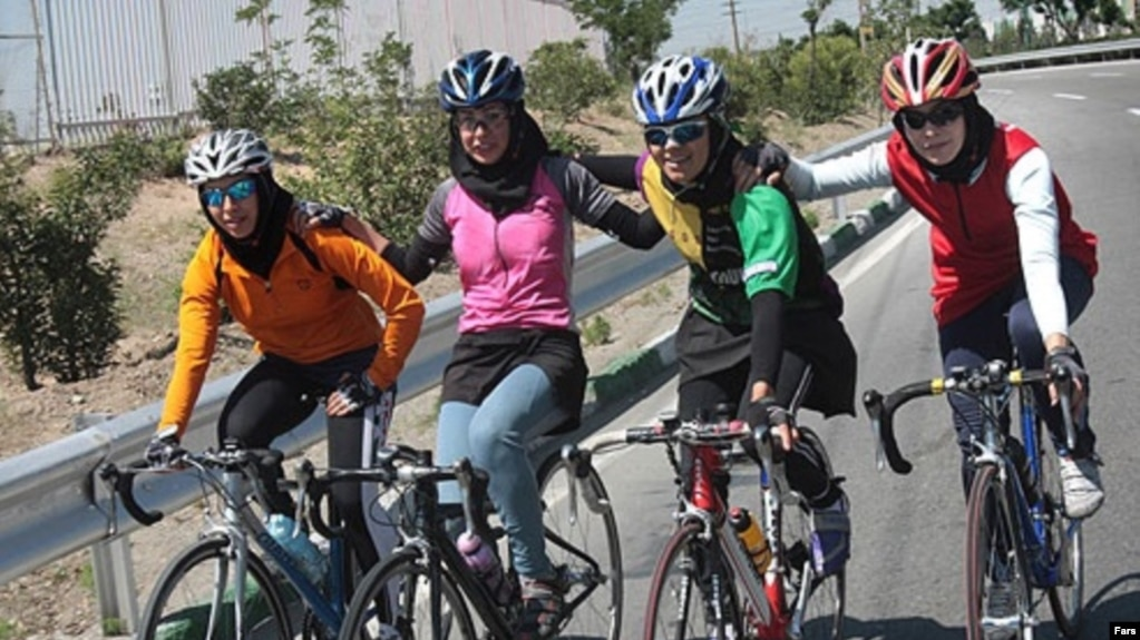 Iranian Police Chief Targets Women Cyclists, Roller-Skaters