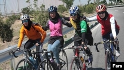 Iranian women's cycling team