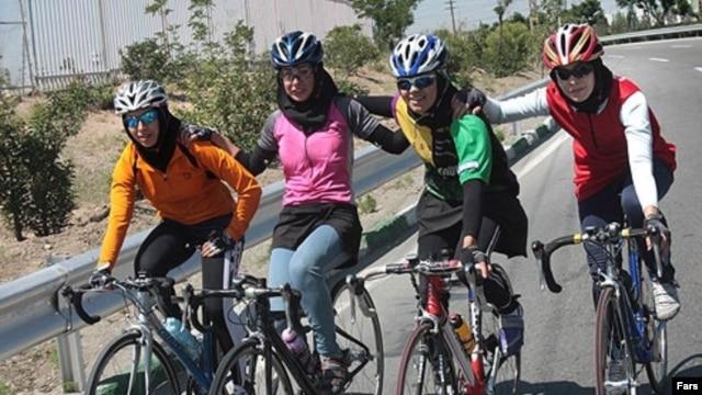 Iranian women's cycling team