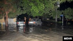 Flash flooding in Pakdasht, Tehran