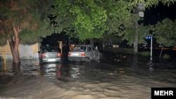 Flash flooding in Pakdasht, Tehran