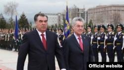 Австрия президенти Бишкекка келишдан олдин Тожикистонга борди.