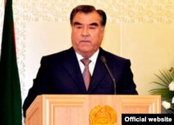 Tajik President Emomal Rahmon