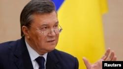 Ուկրաինայի գահընկեց արված նախագահ Վիկտոր Յանուկովիչը, արխիվ